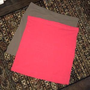 H&M mini skirts